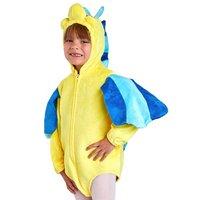 Toddler Flounder Fish Costume Child Marine Animal Costumes Kids Ocean Fish Halloween Costume