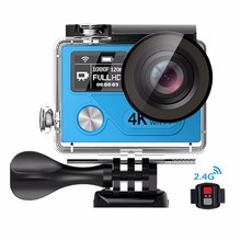"winait wholesale china cheap WIFI Action Waterproof Camera H8plus 14MP 170 degree wide angle30meters with 2.0""display"