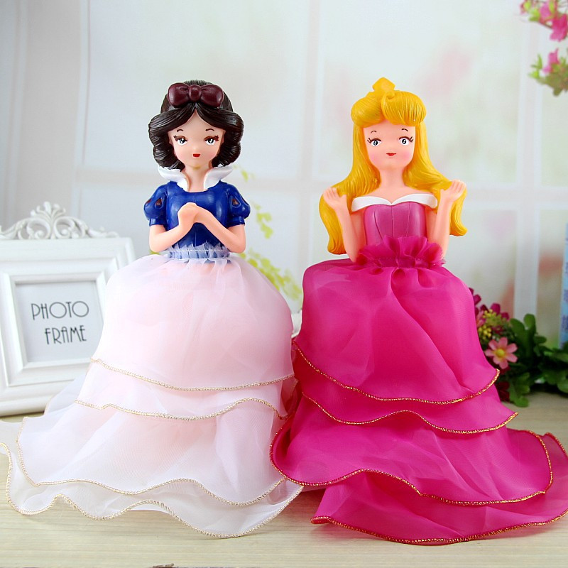 Novelty Cartoon Princess Money Box Children Girl Large