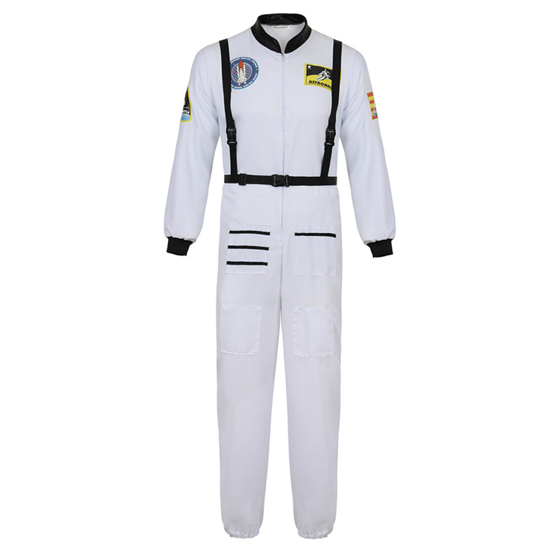 Astronaut Child Halloween Costume Spaceman Large 12-14 Outer Space Travel Helmet