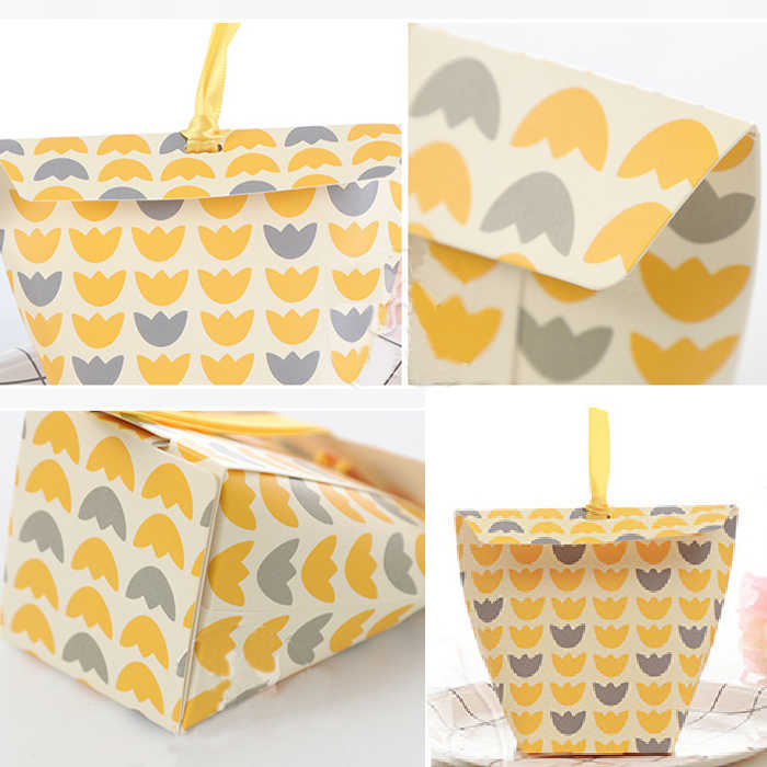 candy box bag chocolate paper gift dots grace for Birthday Wedding Party Decoration craft DIY favor baby shower Wh