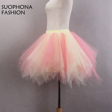fashion in stock short mini petticoat crinoline onderrok wedding accessories petticoats halloween wedding gowns jupon mariage - Halloween Petticoat