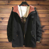 ac0ca25ff 2018 Plus Size 10XL 9XL 8XL 7XL 6XL Mens Parka Jackets Men Winter Jackets  Waterproof Windbreaker mens brand Parka Fashion Coat