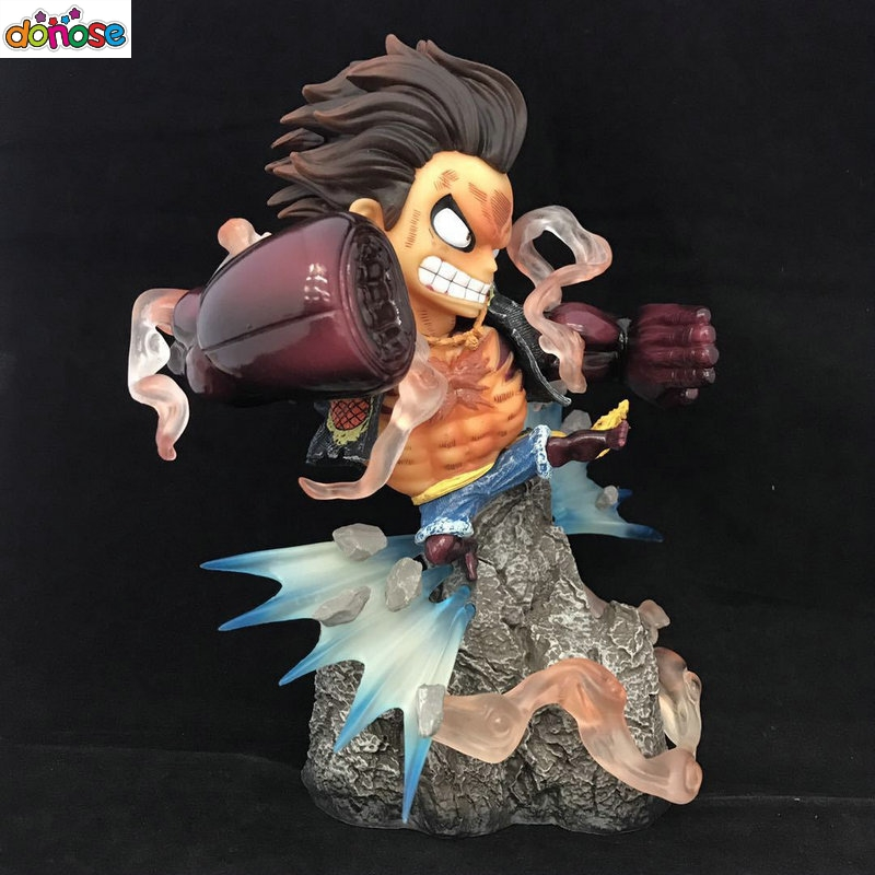 Toys & Hobbies Buy Cheap Hkxzm Anime Figure 28cm Big Size One Piece Gear Fourth Monkey D Luffy Pvc Figure Model Toy Collectible Gift Last Style