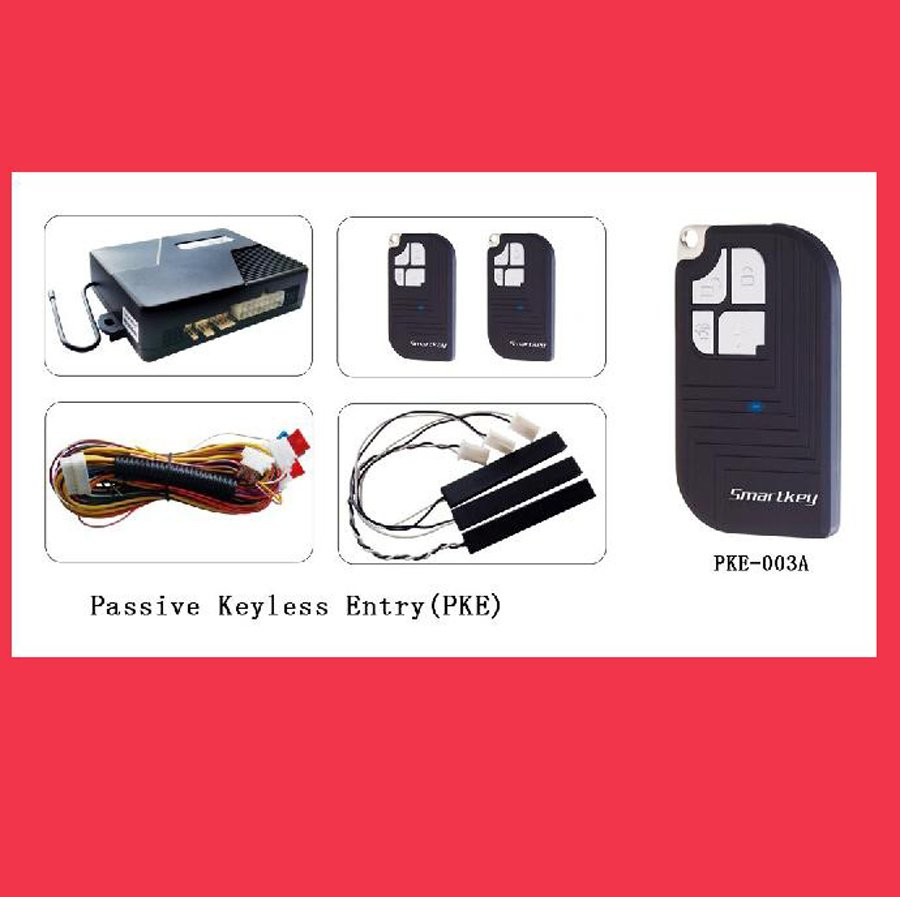 (Free shipping)Passive Keyless Entry system (hot sale PKE 003 with engie start)
