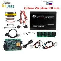 Ultima Versione V54 Fgtech Galletto 2 Master 0475 Euro Versione Master BDM-OBD Funzione Unlock Ecu Programmatore Multi Language
