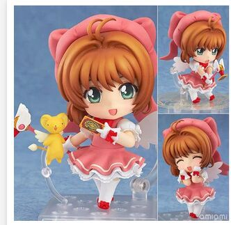 Costumes & Accessories Costume Props Anime Card Captor Cardcaptor Sakura Kinomotosakura Action Figure Toy Doll For Birthday Christmas Gifts
