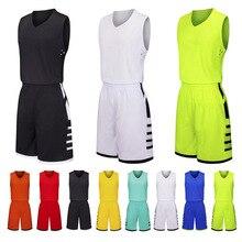 Пользовательские Для мужчин и детей, Баскетбол спортивный комплект, пустой изготовленный на заказ США баскетбольная майка с коротким, молодежи, униформа для игры в баскетбол в колледже