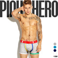 PINK HERO New Fashion Style Cotton Boxers Comfortable Breathble Panties Men Short Pants Trunk Brand Shorts Boxer Cueca Underwear