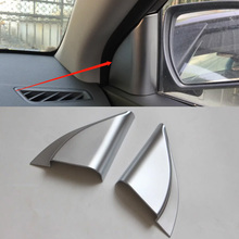 Car Accessories Interior Decoration ABS Inner A Pillar Triangle Cover For Hyundai Elantra 2018 Car-styling