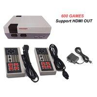 Mini TV Konsola Do Gier Wsparcie HDMI Retro Gier Wideo Odtwarzacz Wbudowany 8-Bit 600 Klasycznych Gier Podręczny Konsoli Do Gier