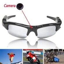 Очки солнцезащитные очки видеокамера цифровой видеомагнитофон камеры DV DVR рекордер Поддержка карты памяти для вождения Спорт на открытом воздухе камеры