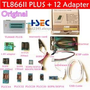 Image 4 - Adaptador universal programador, 100% original xgecu tl866ii plus nand tsop48 minipro tl866cs/a eeprom programador