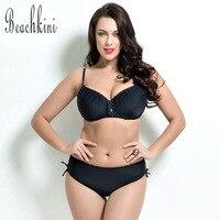HAIZI 2016 Bikinis Set Women High Neck Halter Swimsuit Bowknot Maillot Plus Size Swimwear Swimwear 1684