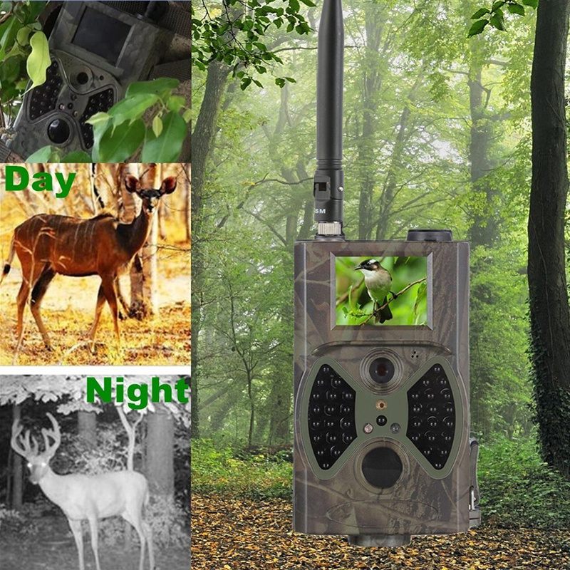12MP 940nm Hunting Cameras NO Glow New Trail Cameras MMS Black IR Wildlife Cameras Trap Game Cameras Newest HC300M Update System hc300m trail cameras 12mp 940nm no glow mms gprs digital scouting hunting camera trap game cameras night vision wildlife camera