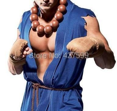 Street Fighter Akuma Cosplay Kostum Halloween Kostum Permainan