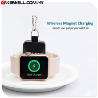 Chargers Portable Mini Portable Wireless Quick Charging Power Source Charger For Apple Watch 38mm 42mm Phone Accessories