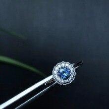 טבעי ספיר טבעת, סגנון קלאסי, מושלם באיכות חן, 925 כסף, במיוחד מומלץ