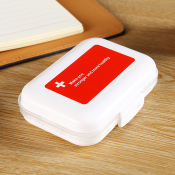 mini vitamin tablet holder and portable weekly pill organizer cases for medicine tablet storage