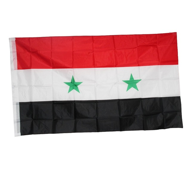 Syria Flag Banner Cm National Flag For Festival Home - Syria flag