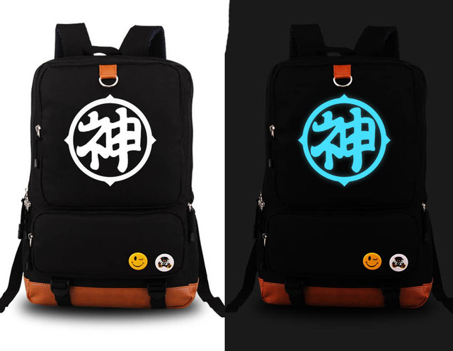 Dragon Ball Z Son Goku Cosplay Backpack Bags