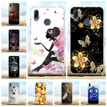 For Asus Zenfone Max M2 ZB633KL Case Soft TPU Cover Cartoon Pattern Capa
