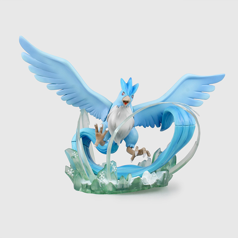 Action Figure 1/8 scale painted figure Articuno Scene Doll Garage Kit Toy PVC Action Figures Collectible Model Toys 18cm KT3160 1 6 scale figure doll troy greece general achilles brad pitt 12 action figures doll collectible figure plastic model toys