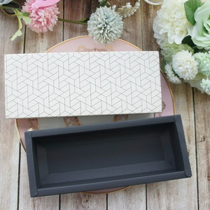 Image 3 - 9.5x24.5x3.5CM elegant honeycomb style 10 set Chocolate candy candle Paper Box valentines day Christmas Birthday Gifts pack