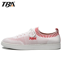 TBA Breathable Skateboard Shoes For Men Mesh White Shoes Man Brand Summer Sport Shoes 2017 New Light Weight Men's Sneakers