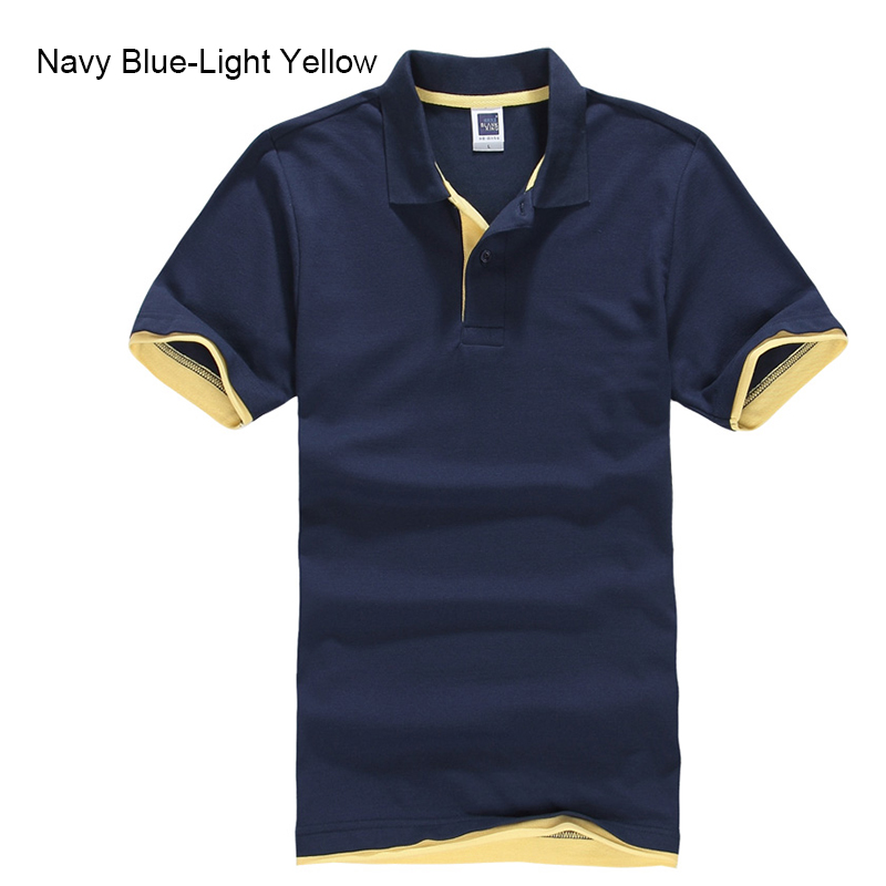 Brand New Men's Polo Shirt High Quality Men Cotton Short Sleeve shirt Brands jerseys Summer Mens polo Shirts 59