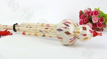 2017 Wholesale Chinese Blue And White National Musical Instrument Hulusi & Round Flute For Beginner