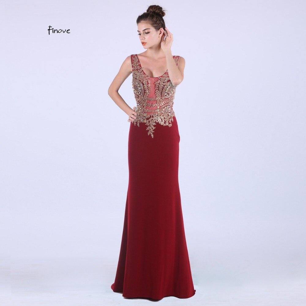 Finove Vestido De Noiva Mermaid Evening Gowns 2018 Elegant Long ...