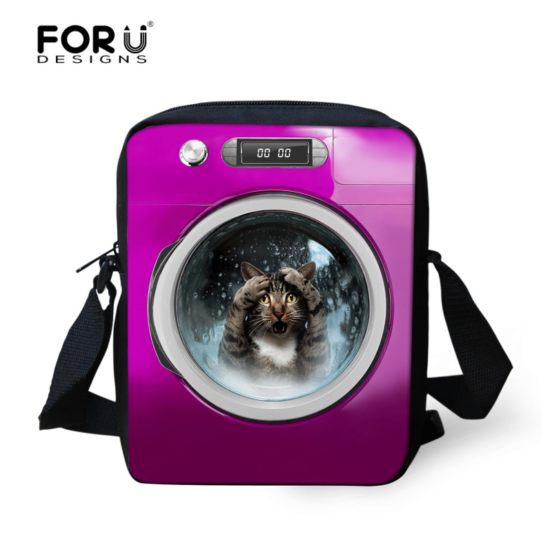 5703e88850 FORUDESIGNS Fashion Women Messenger Bags Famous Brand Cute Cat Dog Casual Crossbody  Bags Bolsos Mujer Travel