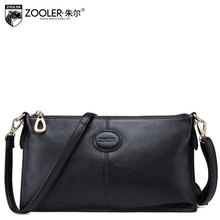 classic bags ZOOLER BRAND New Fashion vintage messenger bags genuine leather cross body bags for women Cowhide casual clutch