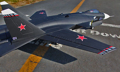 Scale Skyflight Twin Metal 70 EDF 1.5M RC SU47 Berkut ARF/PNP Jet Plane Model W/ Motor Servos ESC W/O Battery