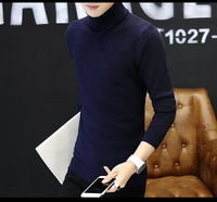 Men's sweater Korean high necked men's sweater bottoming shirt youth sweater