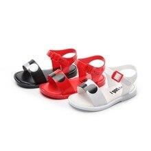 Mini Melissa/Новинка года; сандалии для мальчиков и девочек с Микки Маусом; прозрачные сандалии; детская пляжная обувь; обувь для девочек с героями мультфильмов; детская обувь с Минни Мелиссой