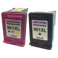 2PK Ink Cartridge For HP 901 XL for hp Officejet 4500 J4500 J4550 J4680 J4524 J4580 J4540 J4624 Printer ink cartridge hp901 xl
