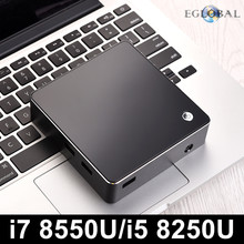 [Intel Core i7 8550U i5 8250U Quad Core] Eglobal Nuc Mini PC i7 Windows 10 Pro DDR4 Max 32GB AC Wifi Mini Computer HDMI Mini DP(China)