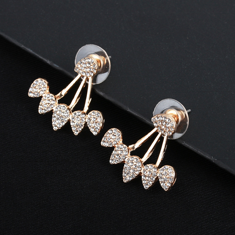 Stud Earrings Earrings Full Crystal Flower Stud Earrings For Women Brincos Earing Earring Oorbellen Earings Jewelry Pendientes Wholesale S71 Be Shrewd In Money Matters