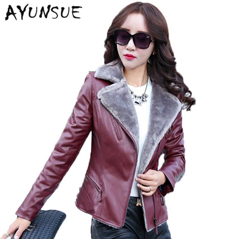 Online Get Cheap Sheepskin Coat Jacket -Aliexpress.com   Alibaba Group