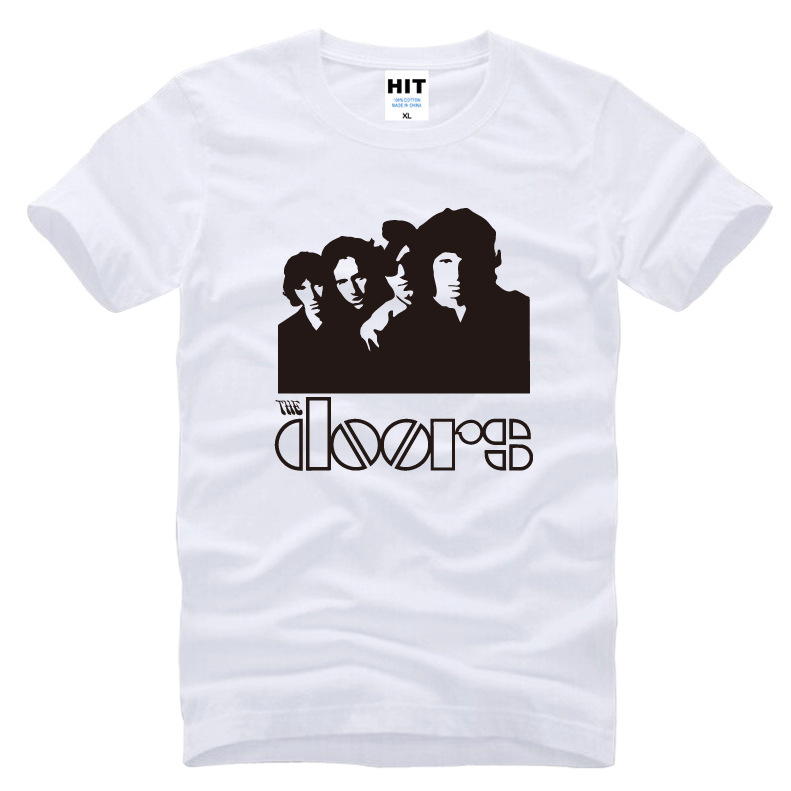 Newest Funny Rock Band The Doors Music Mens Men T Shirt Tshirt 2017 New Short Sleeve O Neck Cotton Casual T shirt Tee-in T-Shirts from Menu0027s Clothing ...  sc 1 st  AliExpress.com & Newest Funny Rock Band The Doors Music Mens Men T Shirt Tshirt 2017 ...