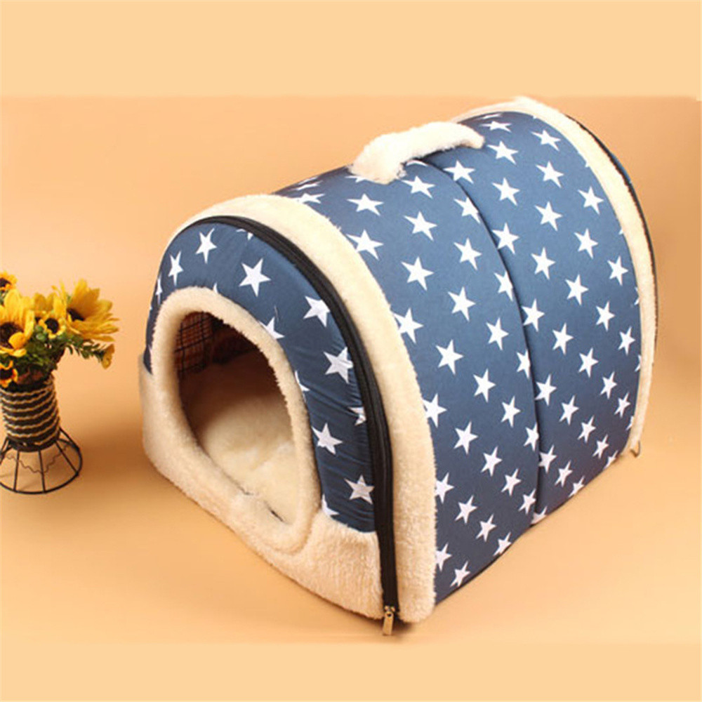 Pet House Dog Bed Mascotas 2 In 1 Home And Sofa For Dog Bed Cat Puppy Rabbit Pet Warm Soft Warm Pet Bed Cama Perro Pets Beds