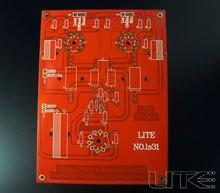 1pcs LS31 tube pre-PCB blank board 5842 amplification free shipping