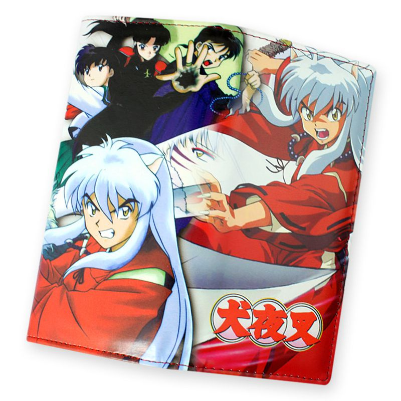 New Japanese Anime Inuyasha Long Wallet Coin Purse Cosplay Fairy Tail Dragon Ball Z Cartoon Wallets Photo Holder Anime Billfold 2016 new arriving pu leather short wallet the price is right and grand theft auto new fashion anime cartoon purse cool billfold