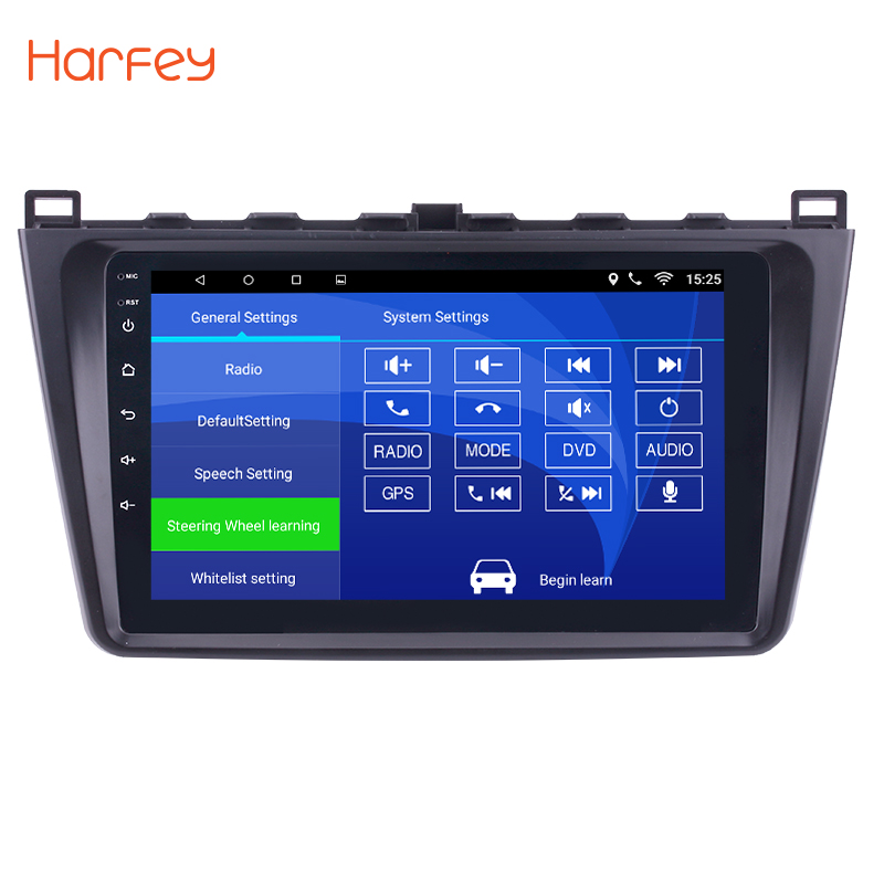 """Seicane 9 Inch For Mazda 6 Rui Wing 2008 2009 2010 2011 2012 2013 2014 Android 8 1 2 Din Car: Harfey 9""""2 DIN Android 8.1 Car Head Unit Radio Player GPS Navigation For Mazda 6 Rui Wing 2008"""