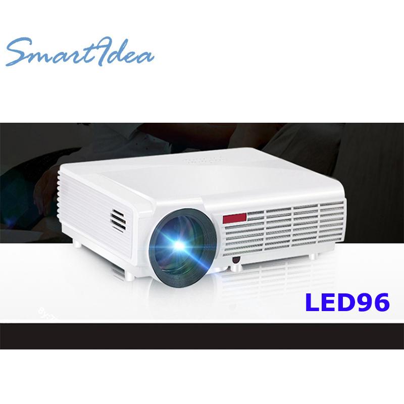 Prix pour SmartIdea Chaude Luminosité 5500 Lumens Longue durée de vie LED Full HD LED home cinéma TV projecteur 3D lcd Multimédia vidéo jeu projecteurs