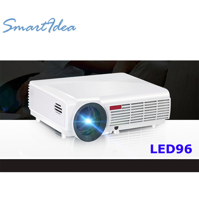 5500 Lumens Smart Lcd Tv Led Projector Full Hd Support: SmartIdea Hot Brightness 5500Lumens Long Life LED Full HD
