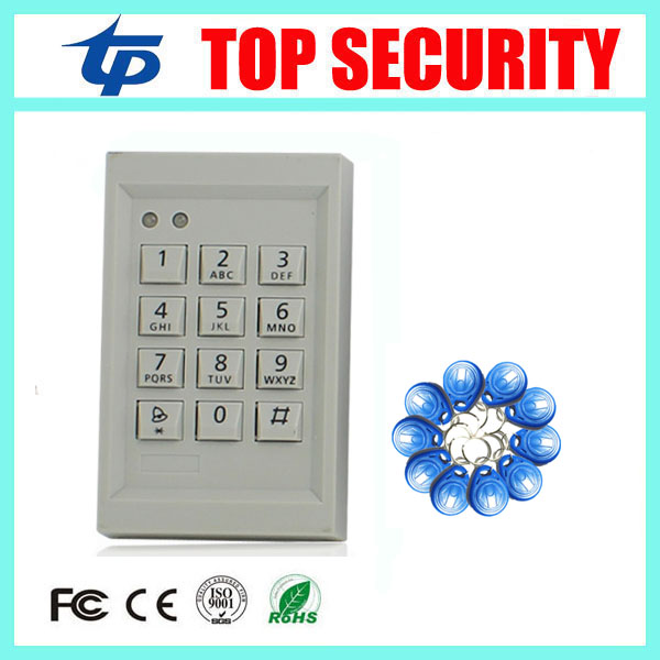 Access control system free shipping good quality standalone RFID card access control system 125KHZ EM card smart door access good quality cheap price standalone rfid card 125khz id card access control system with keypad smart card door access control