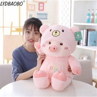 50cm Giant Creative Cute Pig Animal Soft Pillow Baby Lovely Wearing Cat&Dog&Bear Clothes Plush Dolls Kids Gifts Home Decoration